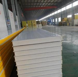 polyester sandwich panel walk in freezer storage