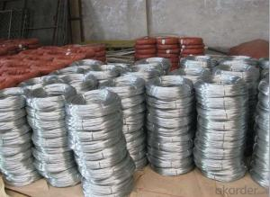 Galvanized wire and Galvanized iron wire for binding used construction