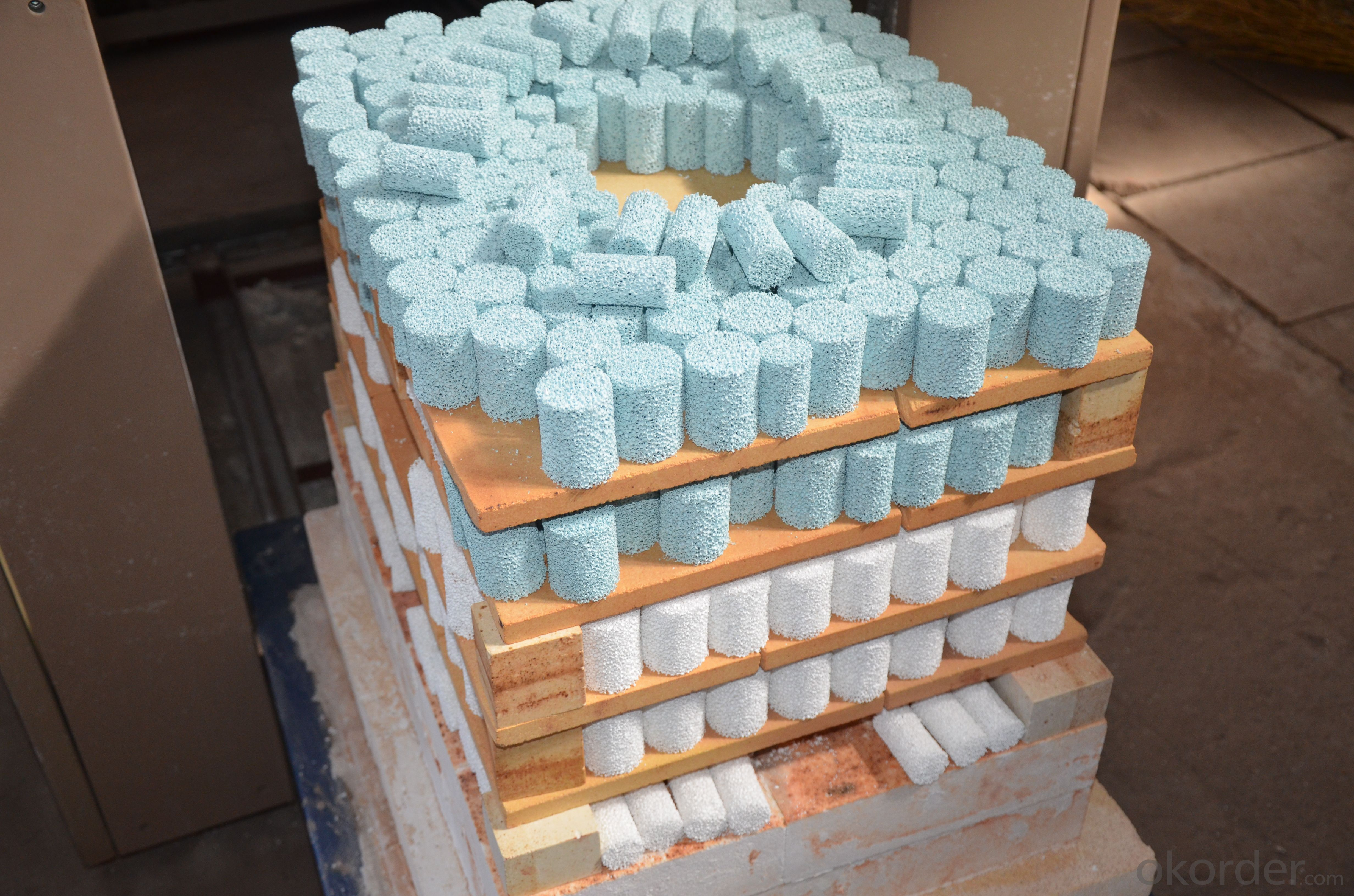 ceramic foam filter for aluminium filtration