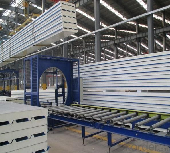 HVAC PU/PIR/Phenolic sandwich panel for air ducts
