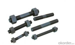 Threaded rod high quality of A193 B7 High Quality