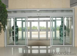 Stainless Steel Sliding Glass Door of Hot Sale