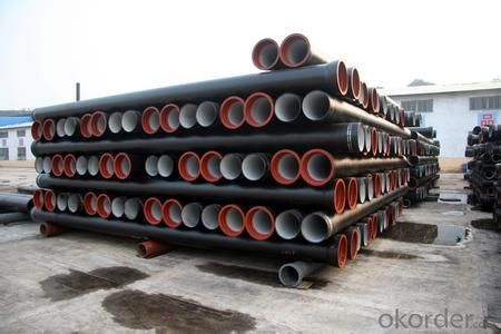 DUCTILE        IRON       PIPE K9 CLASS         DN600