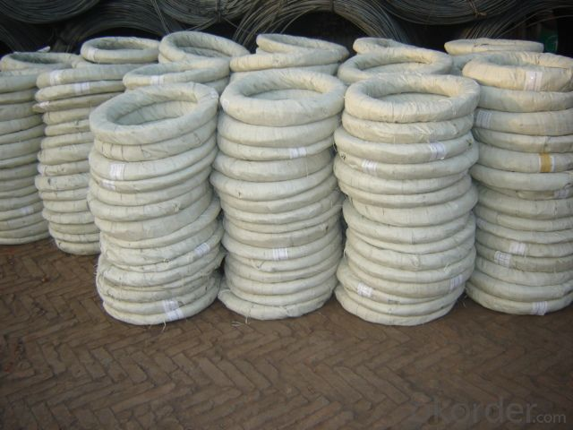 electric galvanized iron wire for binding used construction