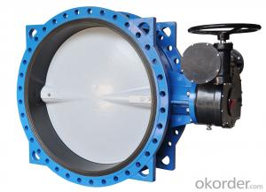 Ductile Iron Butterfly Valve Of Good Quality is Made In China