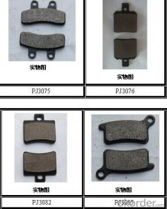 Non-asbestos/Ceramic Bus&Truck Brake Pads Auto parts for TOYOTA