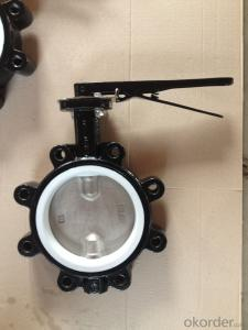 Ductile Iron Butterfly Valve Of Good Quality Made In China