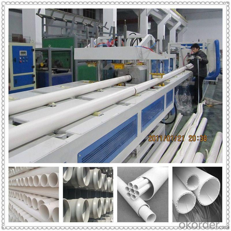 PVC small pipe making machine wire conduit pipe extruder machine