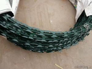 Good Quality Pvc Coated Razor Barbed Iron Wires