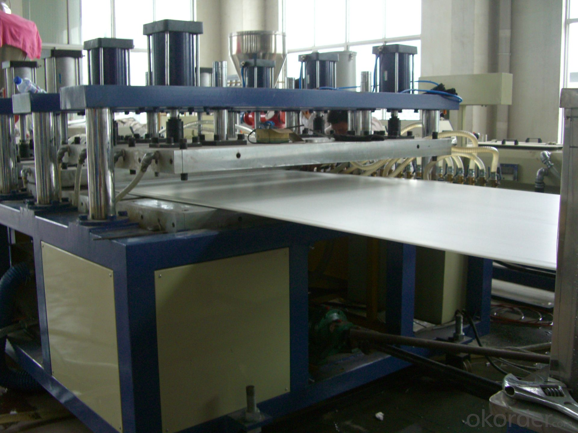 New PVC Free Foamed Board Extrusion Line for advertising