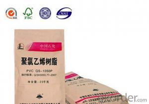 25kg White Kraft Paper Bag for Cement Paper Bag with Valve