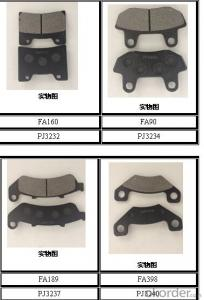 Brake  pads  Anto parts  for cars OEM