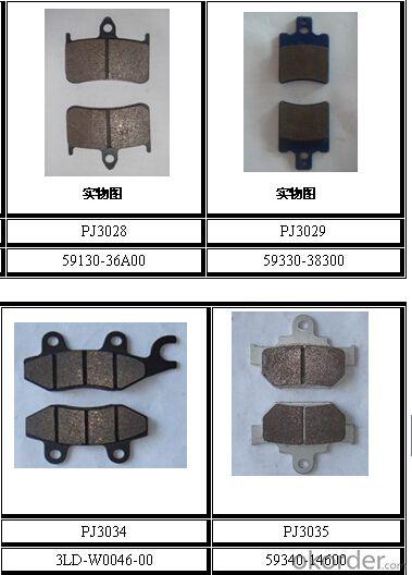 Ceramic Pickup Spare Part Brake Pad WVA29246