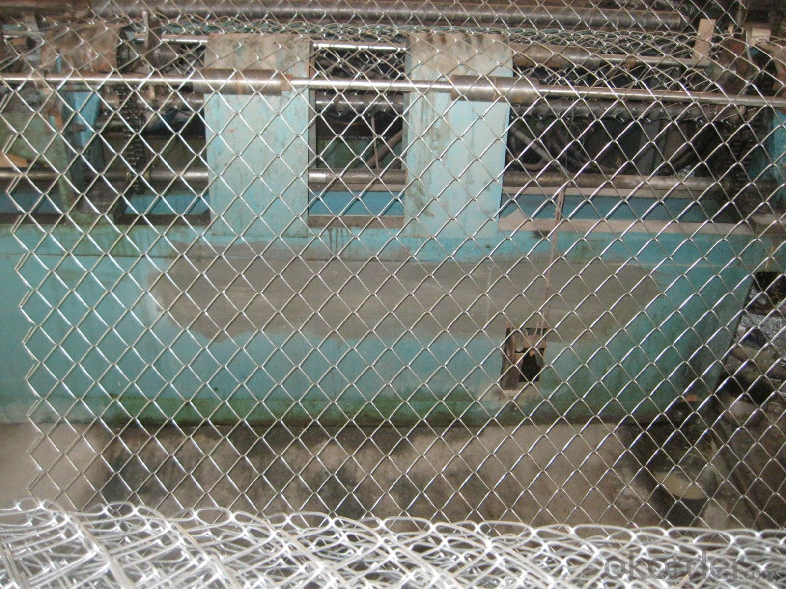 High Zinc Coating Galvanized Chain Link Fencing