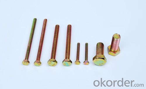 Hexagonal Head Bolt Full Thread Factory Directly Supply