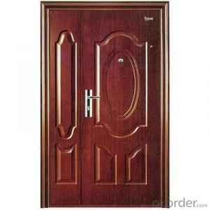 Steel Security Metal Door with Top Quality of Hot Sale