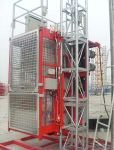 Double cage material hoist SC200/200G
