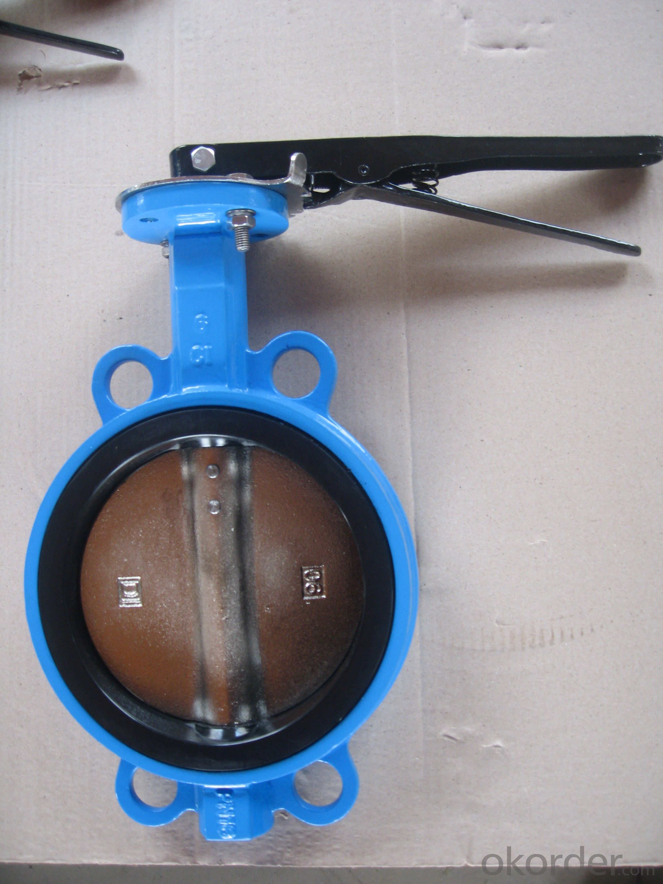 Ductile Iron Butterfly Valve Of Good Quality On Sale