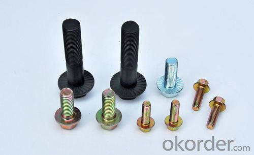 HDG Wheel Bolt Hex Flange Bolt from Factory