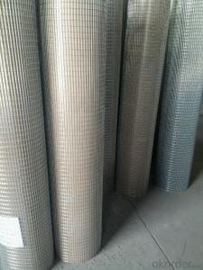 Good Quality Galvanized And Pvc Coated Welded Wire Mesh