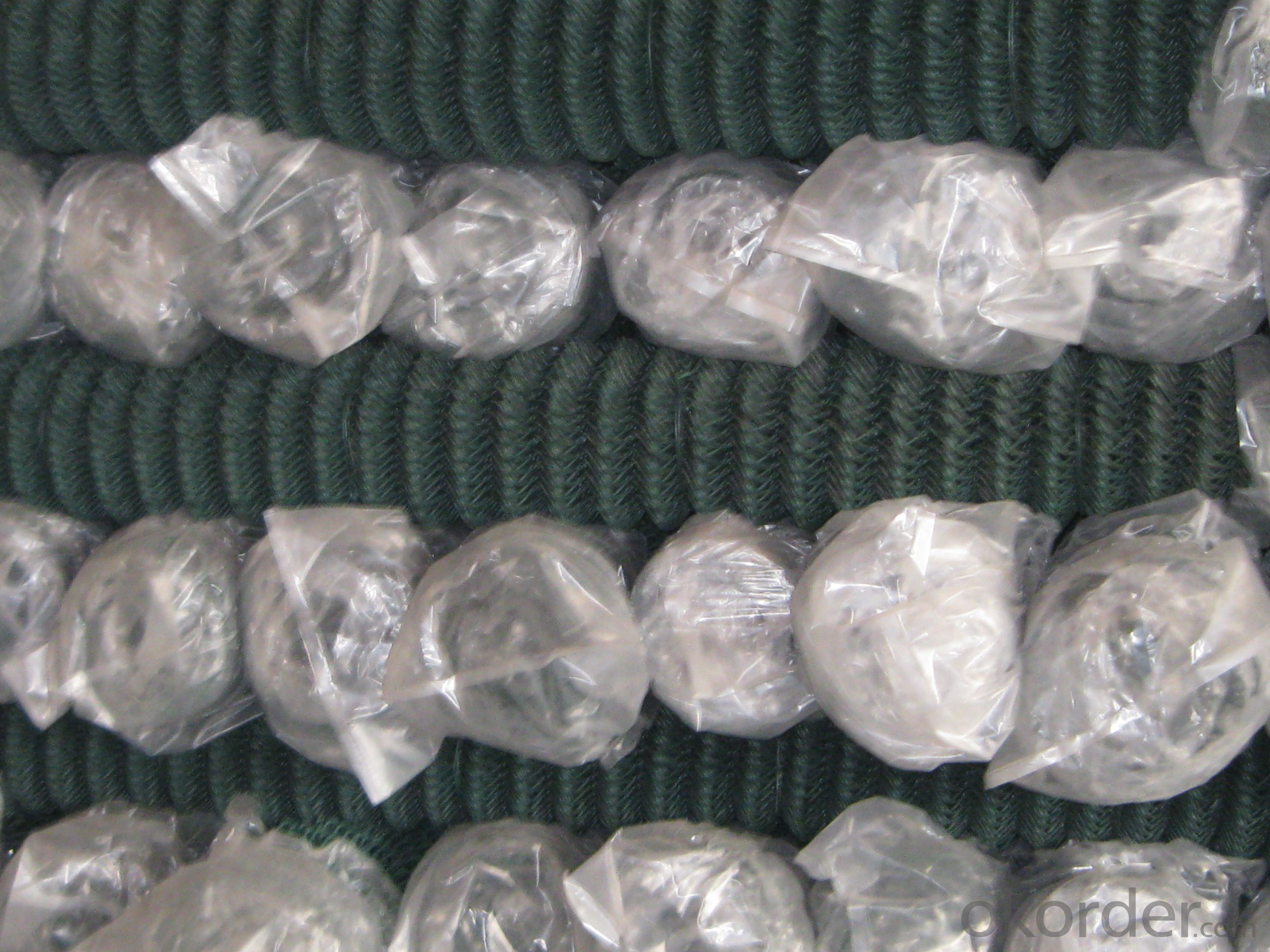Pvc Coated And Galvanised Chain Link Fence