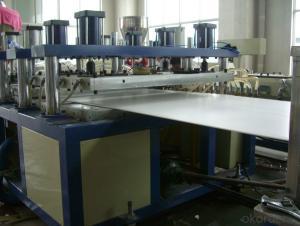 WPC /PVC wood plastic foam board wpc extrusion production