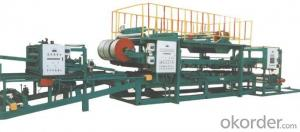 FRP pultrusion machine for continuous pu sandwich panel production line