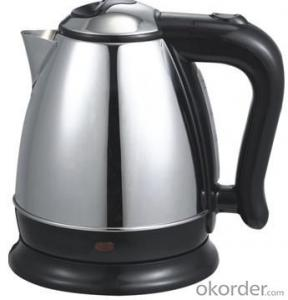 1.5 Litre Stainless Steel Electric Kettle with Auto off and Over heat protection