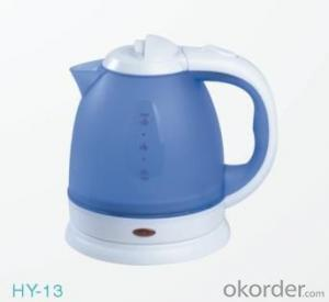 1.5 Litre Food-grade enviromental plastic PP Steel Electric Kettle