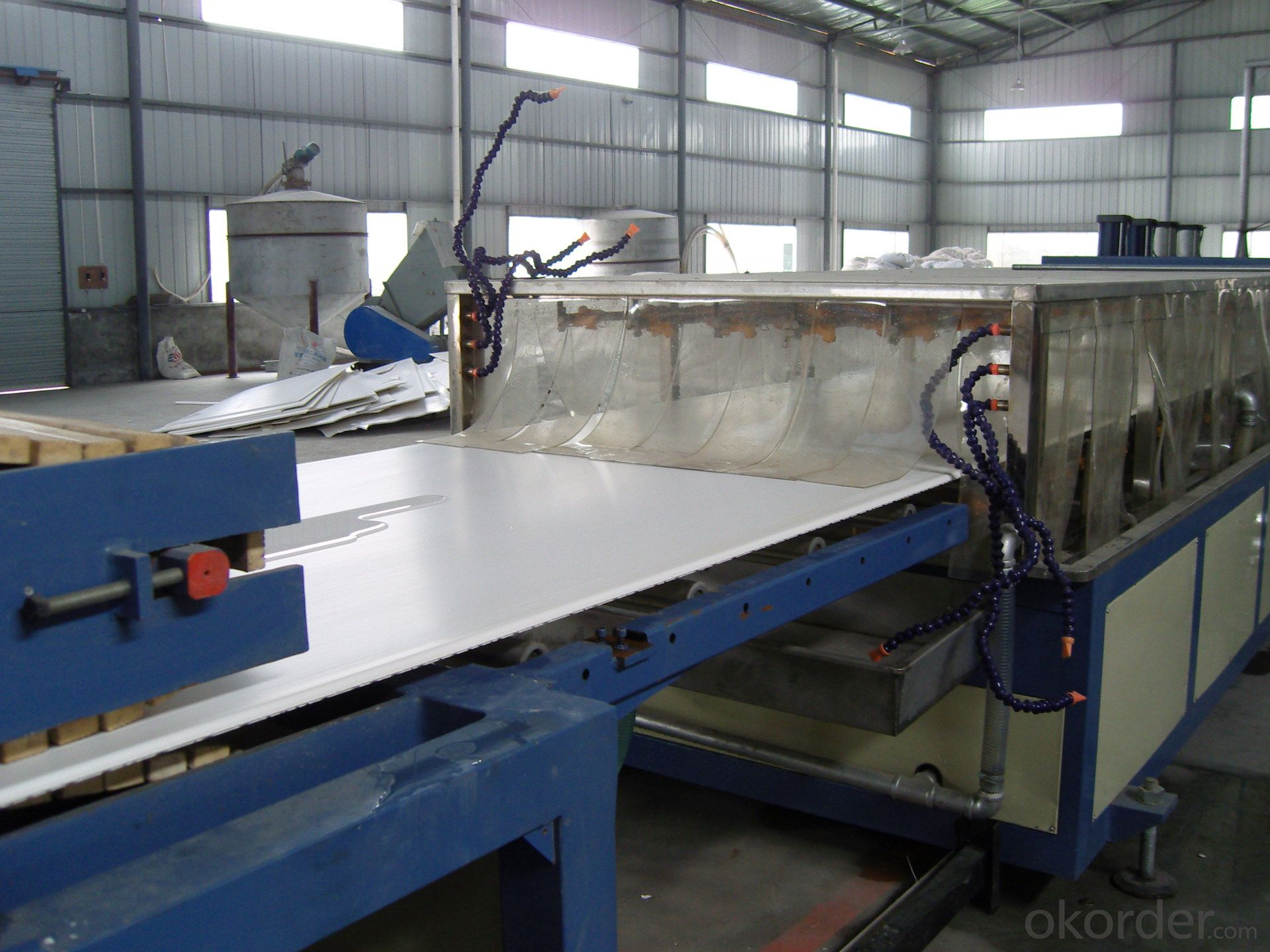 HOT SALE PLASTIC PVC SHEET FOAM EXTRUSION MACHINE PVC BOARD EXTRUDERING PRODUCTION LINE
