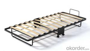 Hotel Extra Folding Bed /Guest Bed With Wheel FB03