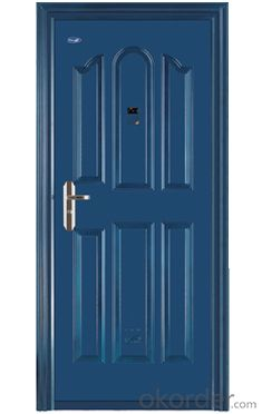 Iron Steel Security Metal Door of Hot Sale with Good Quality