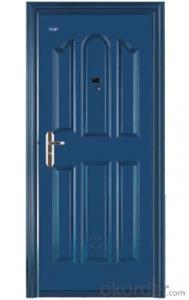 Iron Steel Security Metal Door of Hot Sale with Good Quality