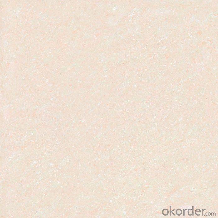 Polished Porcelain Tile Double Loading Pulati Serie Pink Color 6601
