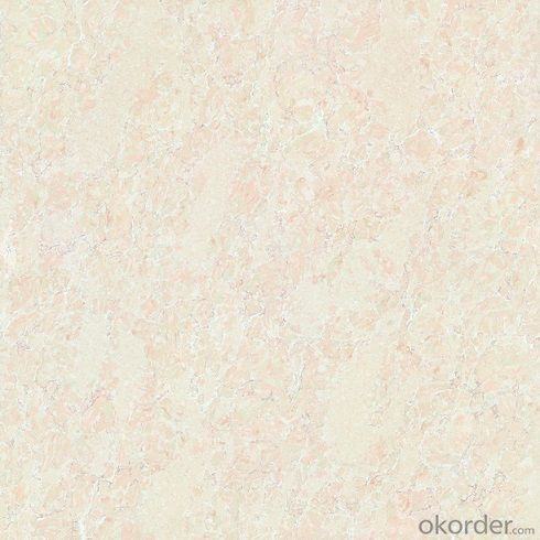 Polished Porcelain Tile Double Loading Pilatinum Serie Light Beige Color 6201