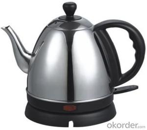 1.0 Litre Stainless Steel Electric Kettle with Auto off and Over heat protection