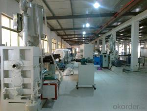 HDPE pipe extrusion line/HDPE pipe production line/plastic pipe extrusion line