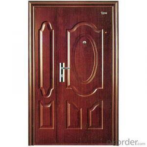 Iron Steel Security Metal Door of Hot Sale
