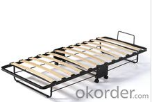 Hotel Extra Folding Bed /Guest Bed With Wheel FB01