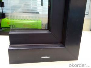 UPVC  Windows, Plastic Windows with Double Glass