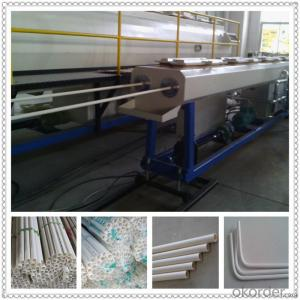 12mm-63mm PE/PP pipe production line/electrical threading pipe production line