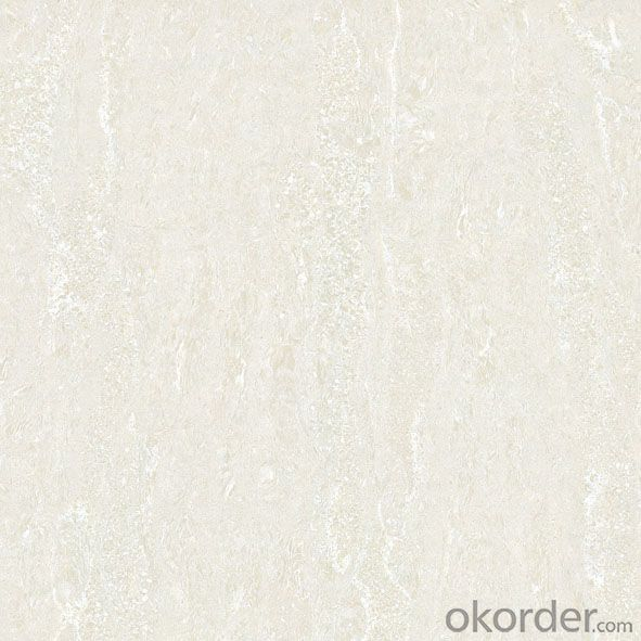 Polished Porcelain Tile Double Loading Navona Serie White Color XHZ6001