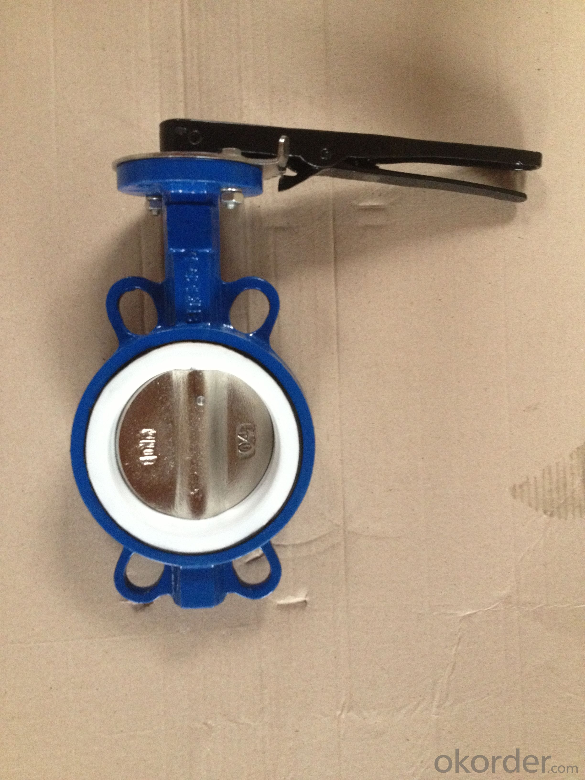Ductile Iron Butterfly Valve Of Good On Sale Made In China
