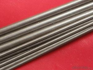 High quality threaded rod 12mm for industrial use , custom made also available
