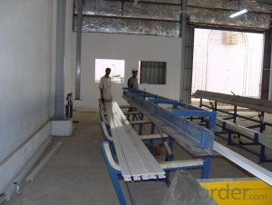 PVC windows and doors profile production line/extrusion line/making machinery