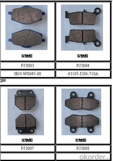 Non-asbestos/Ceramic Bus&Truck Brake Pads