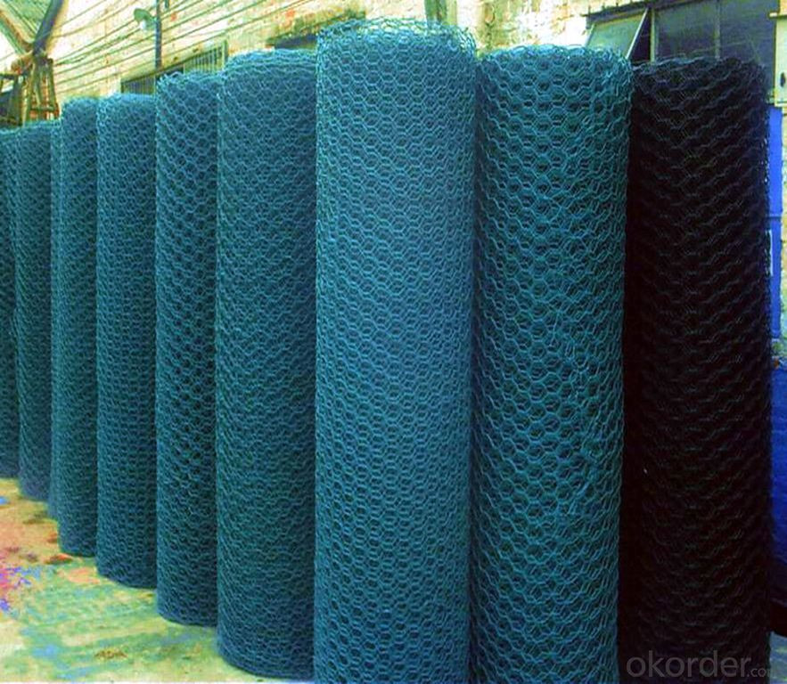 High QualityPVC Coated Hexagonal Wire Mesh