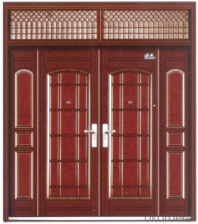 Iron Steel Security Metal Door with Good Quality of Hot Sale
