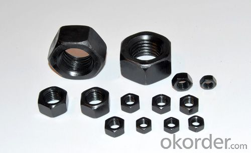 DIN934 hex nut China High Quality competitive price