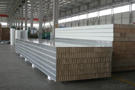 popular CE CERTIFICATED EPS sandwich wall panels/decoration EPS sandwich panel 1000mm/970mm/950mm